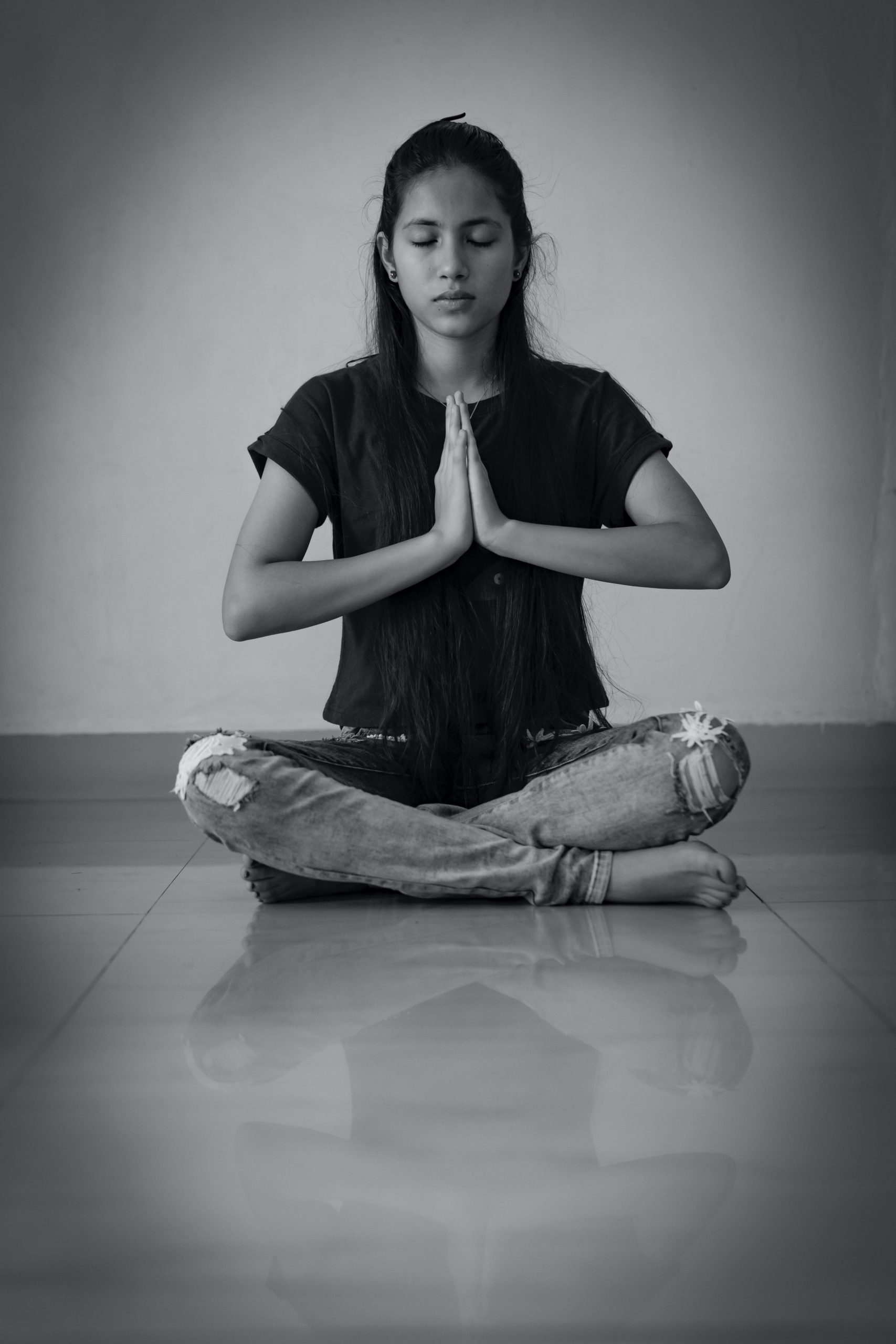 Routine du soir méditation